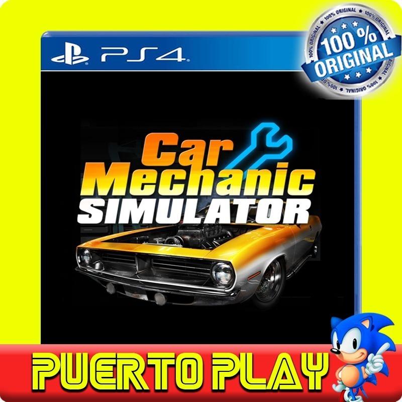 Car Mechanic Simulator Ps4 Digital / Español Oficial / 1°