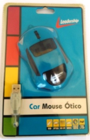 car mouse ótico usb leadership