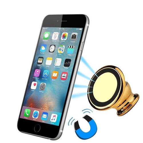 car phone mount holder 360 ° rotación magneti + envio gratis
