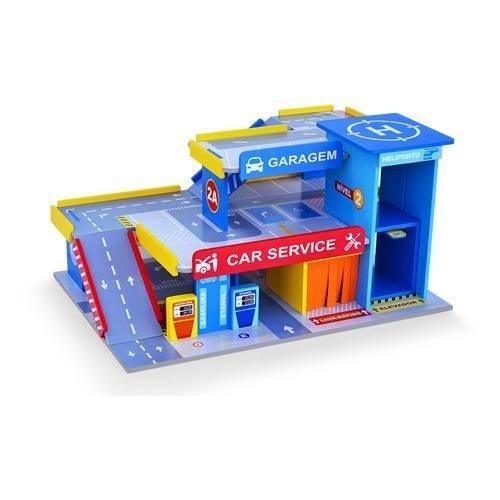 Car service posto e garagem brinquedo infantil junges 090 for Garage jm auto audincourt