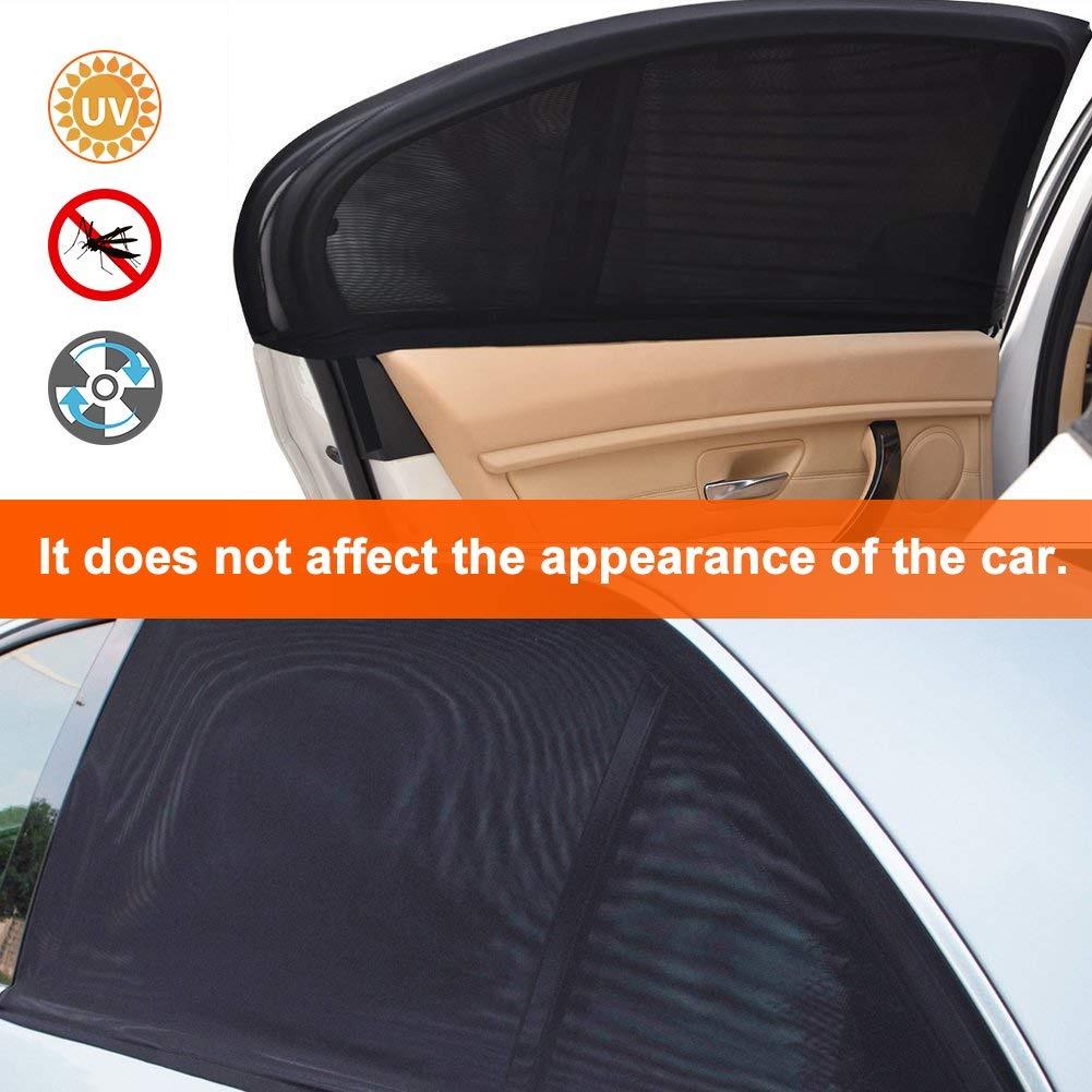 Pop Up Sun Shades Twin Pack Car Window Sunshades Pair