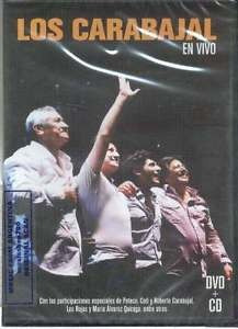 carabajal en vivo dvd & cd set dvd + cd nuevo