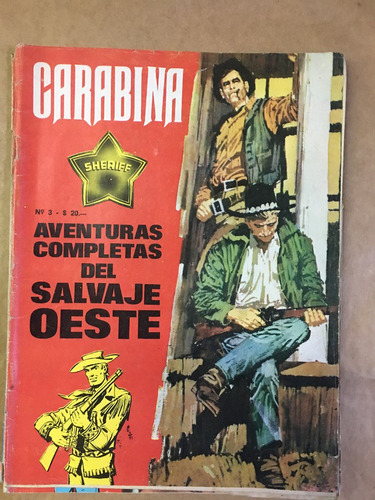 carabina 2 y 3 historietas del oeste, ed jova, c35
