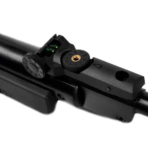 carabina de pressão 14 black edition 4,5mm + 1000 chumbinho