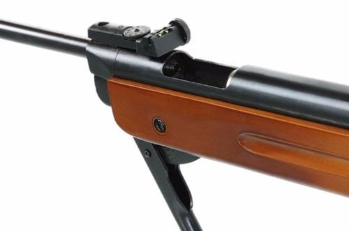 carabina de pressão fixxar 5.5 -600fps cano fixo+2chumb+capa
