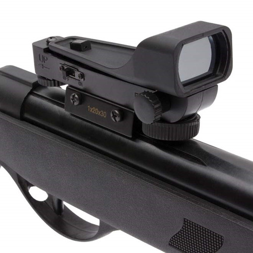 carabina de pressão night wolf 5.5mm qgk + red dot