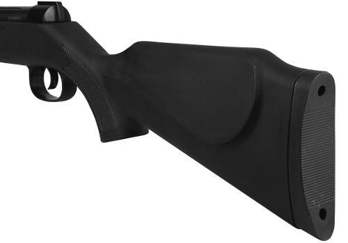 carabina de pressão qgk black edition 5.5mm com luneta brind