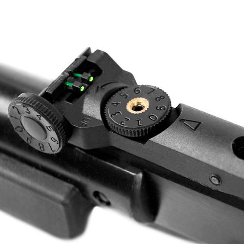 carabina de pressão qgk14 black edition 4,5mm
