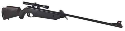 carabina de pressão rossi nova dione black 2017 5.5 + luneta