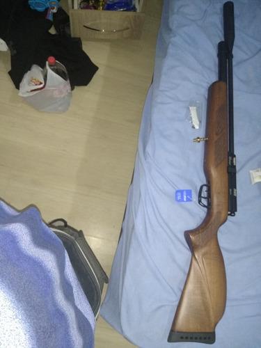 carabina gamo pcp coyote + luneta + bomba promoção.