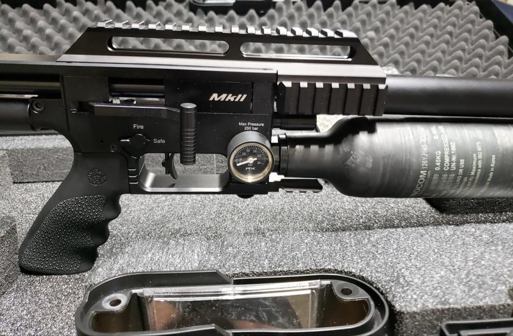 Carabina Pcp Fx Impact-x Black  22 Mk2 Modelo Novo 2019