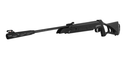 carabina pressão chumbinho 5,5mm oxidada 1000fps cbc nitro-x