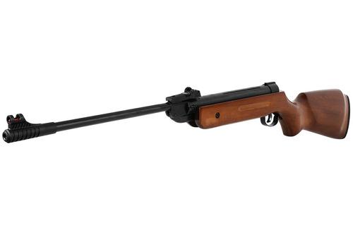 carabina pressão chumbinho espingarda qgk14 madeira 5.5mm