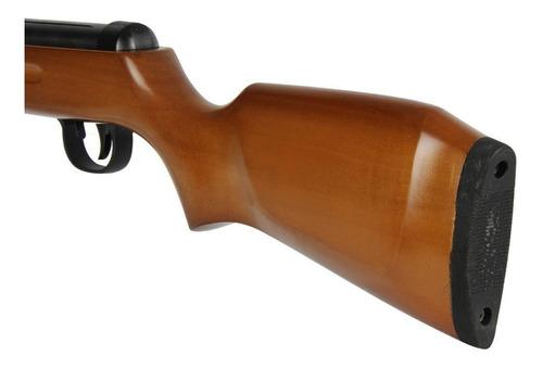 carabina pressão fixxar west 5.5mm + kit luneta capa chumbo
