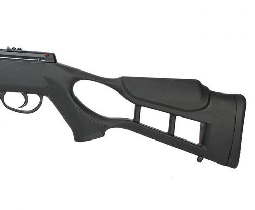 carabina pressão hatsan striker edge gas ram 60kg  5,5mm