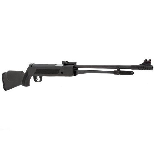 carabina rifle de pressão 5.5mm + chumbinhos brinde + alvos
