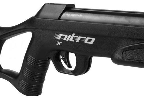 carabina rifle de pressão cbc nitro x1000 5,5mm nitro x 1000