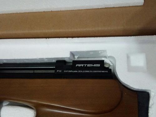 carabina spa p10 (4.5-5.5) zera  p/entrega c/nf