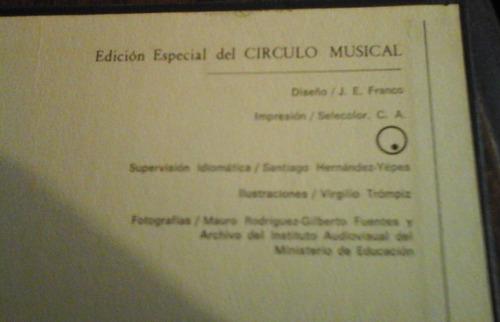 caracas 400 años coleccion completa edic esp círulo musical