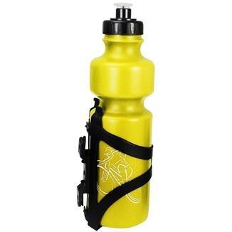 caramanhola 750ml spec -  amarela - com suporte fixador