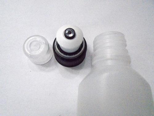 caramanhola pequena para transportar gel 100ml ( 2 unidades)
