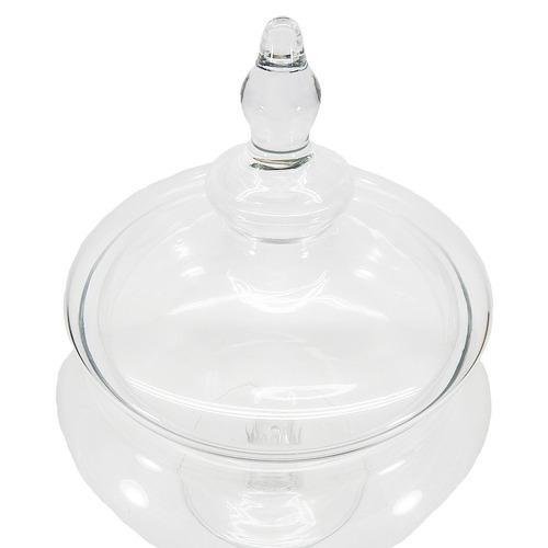 caramelera de vidrio para candy bar (1209) indoprod