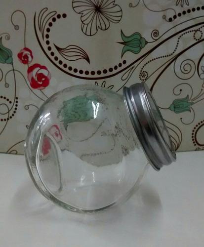 caramelera dos posiciones vidrio para souvenirs