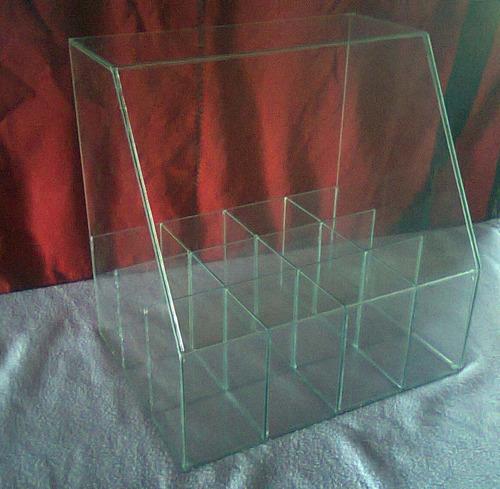 carameleras de vidrio /kiosco /exhibidores -entrega a domclo