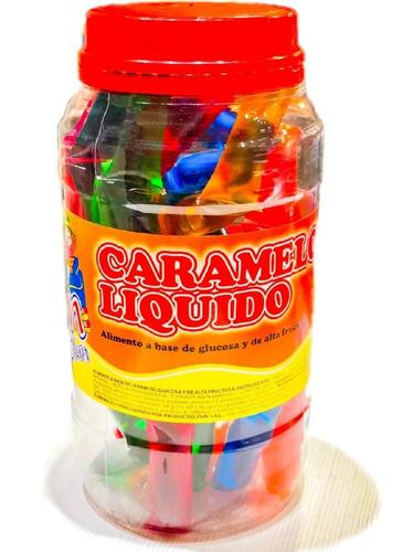 caramelo liquido mielcita - pote 50un- barata la golosineria