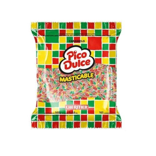 caramelo masticables pico dulce 500grs. cumpleaños oferta!!