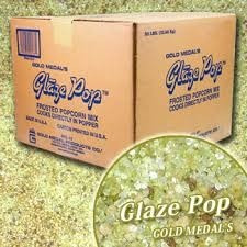 caramelo palomitas glaze pop gold medal 22.7 kg envio gratis