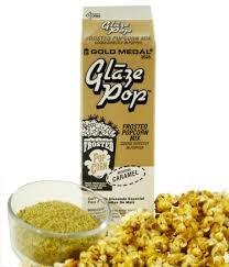 caramelo saborizante palomitas maíz  glaze pop  u s a