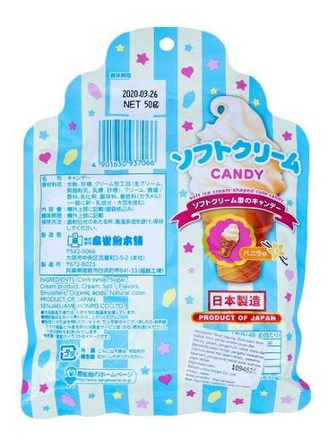 caramelo senjaku soft cream candy helado dulce japones