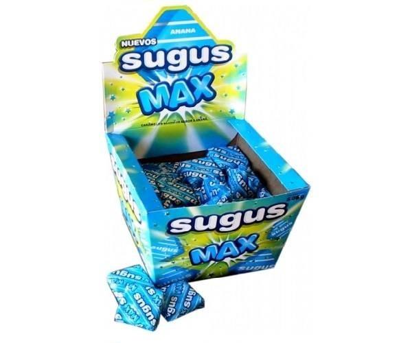 Caramelo Sugus Max Azul! Candy Bar Cumpleaños!
