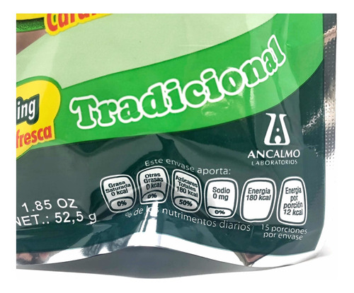 caramelo zorritone bolsa con 15 caramelos c/u