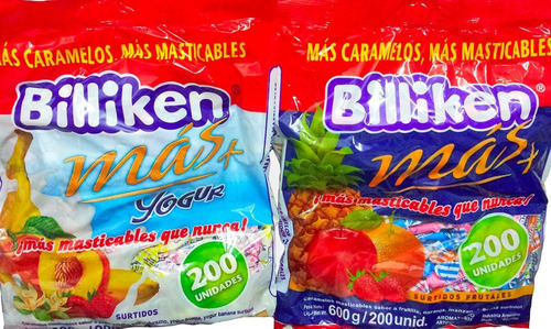 caramelos billiken bolsa 200un - hoy oferta la golosineria