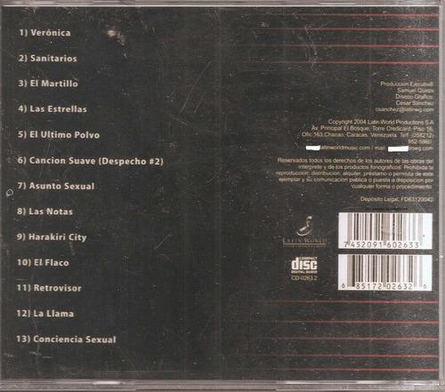 caramelos de cianuro - cd nuevo original un tesoro músical