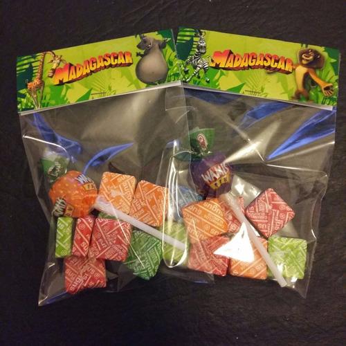 caramelos  en bolsita madagascar