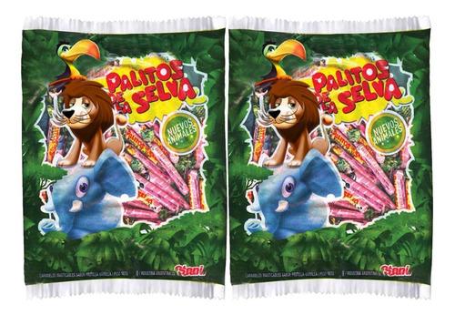caramelos palitos de la selva 600gr - barata la golosineria