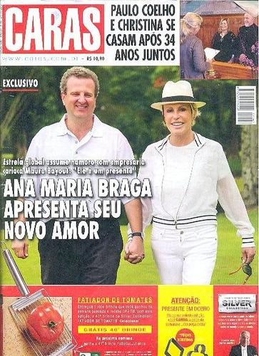 caras 1047: ana maria braga / paulo coelho / lala rudge