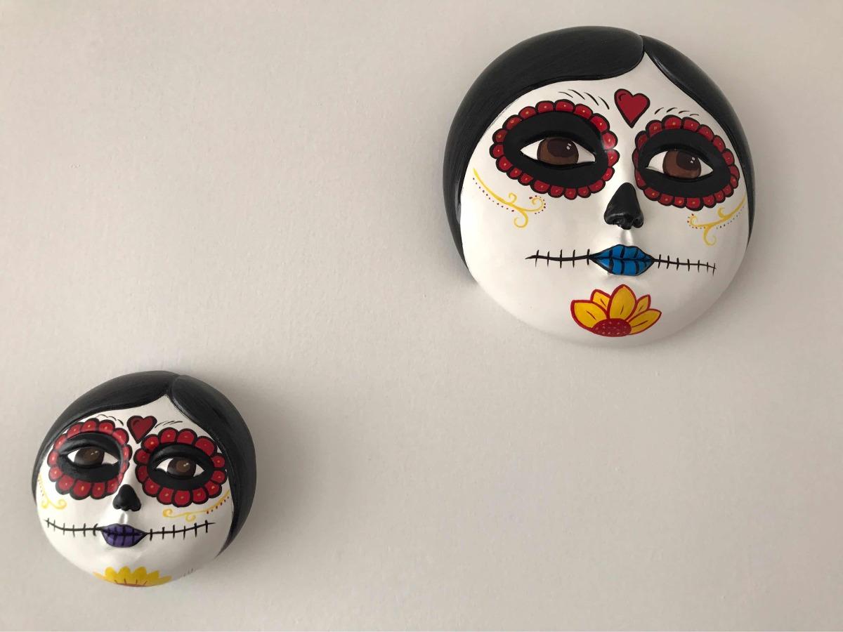 Caras De Catrinas Pintadas A Mano 36000 En Mercado Libre