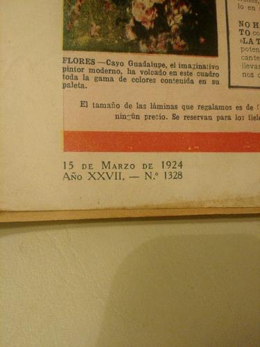 caras y caretas 1924 detalle contratapa,