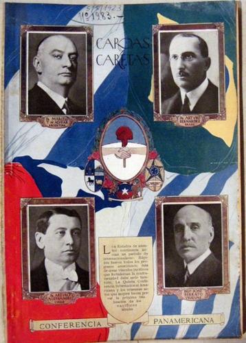 caras y caretas 5 de mayo de 1923 conferencia panamericana.