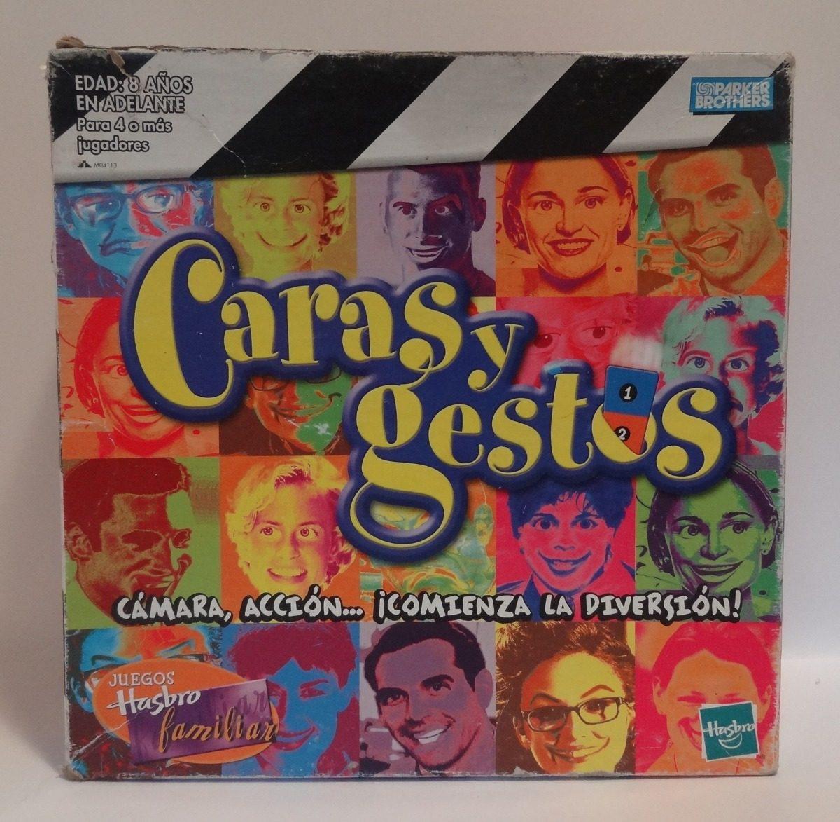 Caras Y Gestos Juego De Mesa Familiar Hasbro 350 00 En Mercado Libre
