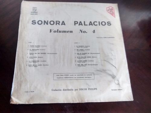 caratula de sonora palacios - vol 4
