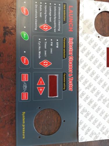caratula teclado p laboratorio inyectores launch original nv