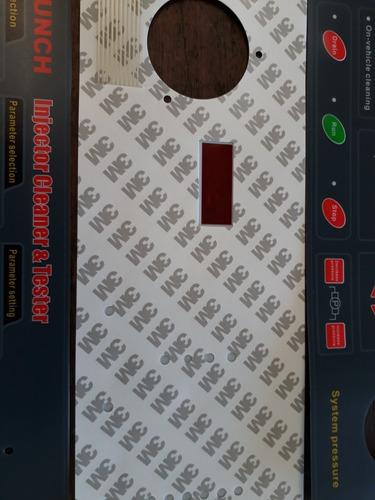 caratula teclado para  laboratorio inyectores launch origina