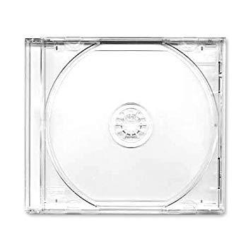 caratulas cd transparentes estuche para cd (nuevas)