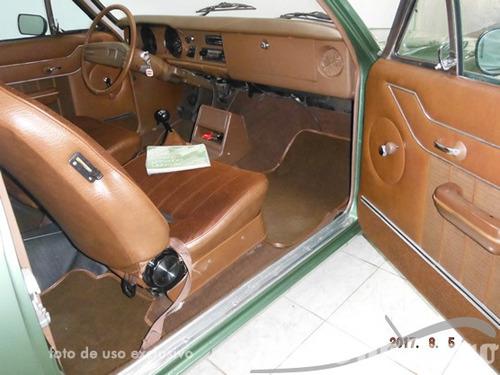 caravan 80 original placa preta raro estado  ateliê do carro