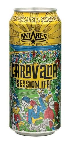 caravana cerveza artesanal antares lata 473ml x 6